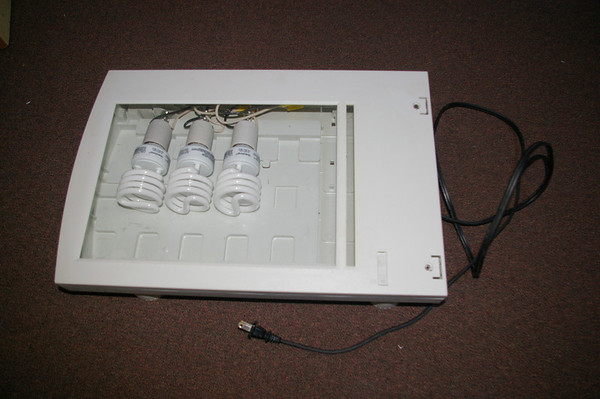 Small light table from ancient SCSI-1 scanner enclosure.
